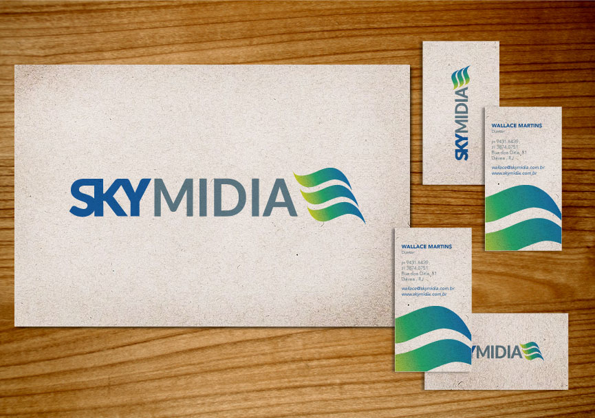 Skymidia – Visual Identity, UI & UX Design – Branding & Website