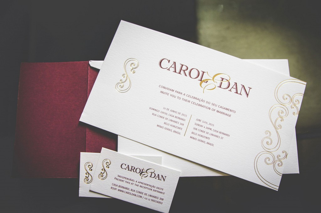 Carol and Dan – Wedding Visual Identity