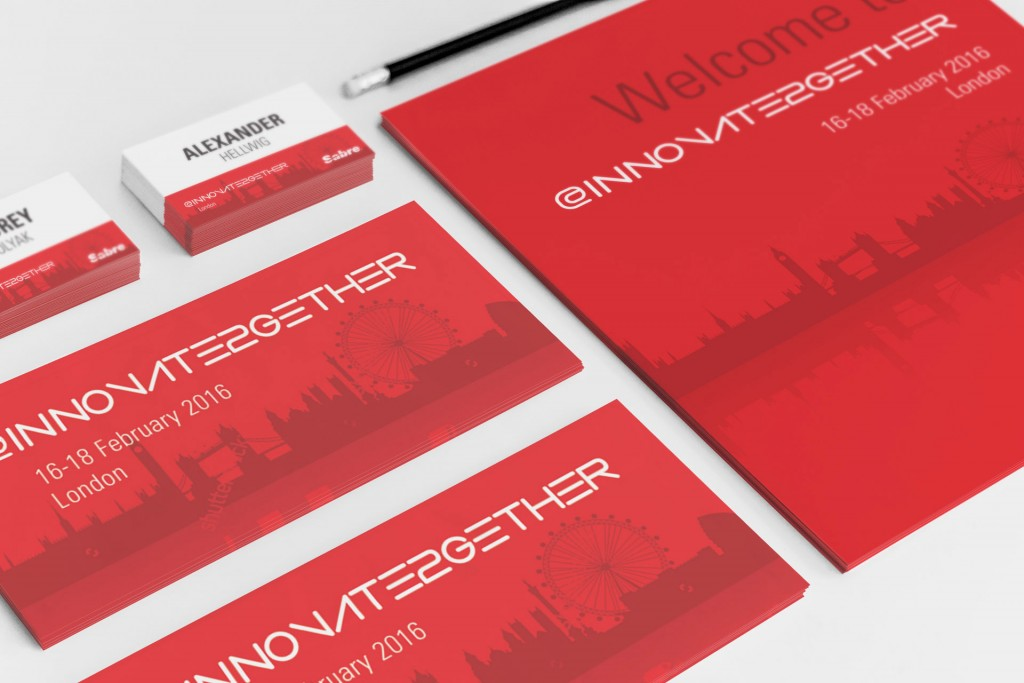Sabre – Innovate Together Event Visual Identity