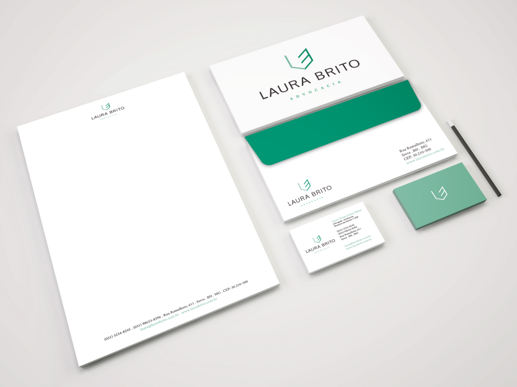 Laura Brito – Visual Identity & Website