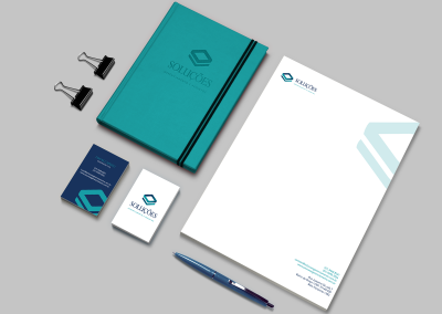 Soluções – Visual Identity, UI & UX Design – Branding & Website