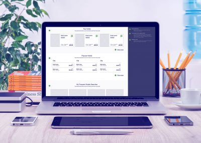GTA – Global Travel Agency – Workshops, UI & UX Design – E-commerce Website